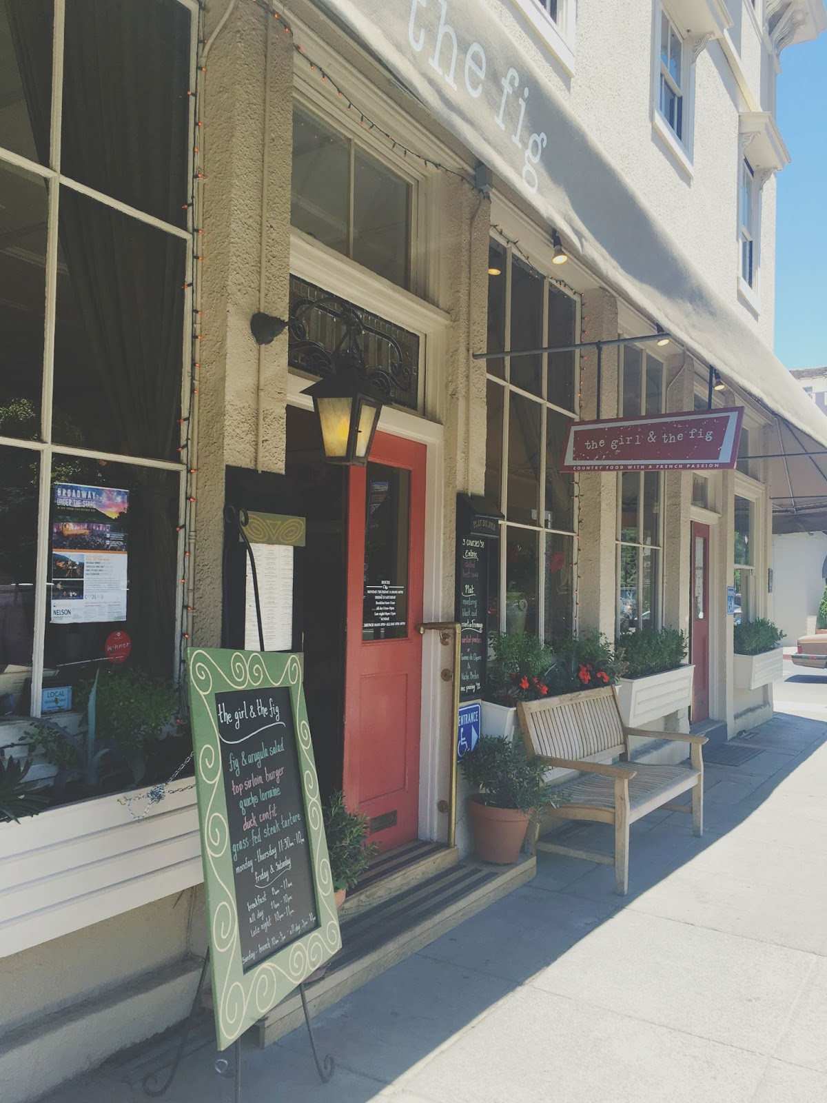 The Girl and the Fig - A restaurant in Sonoma, California