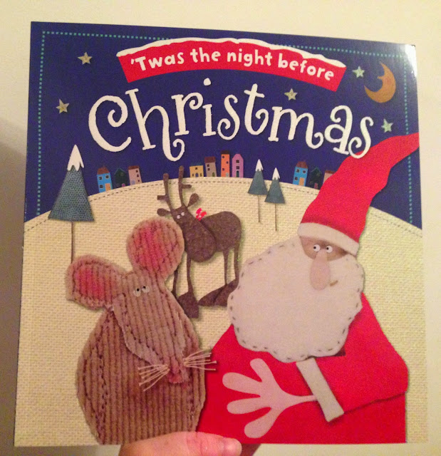 Our Christmas Book Advent tree   Ideas for the Best Children's Books to Buy this Christmas - T'was the night before christmas
