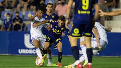 Derrota a domicilio. Ucam Murcia 3-0 Real Madrid Castilla.