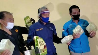 Video BNN Gerebek Paket Sabu Dalam Karung Beras Di Tangerang