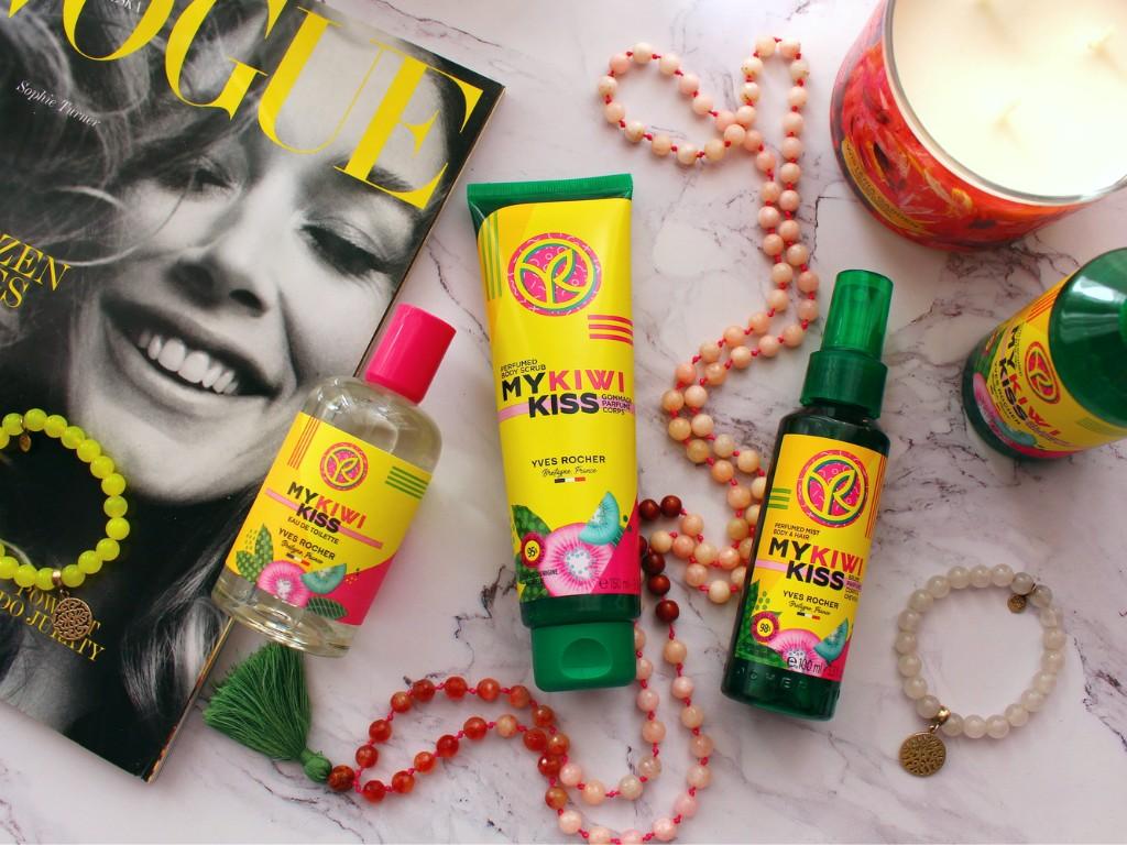 Preludium lata czyli limitowana kolekcja Yves Rocher My Kiwi Kiss