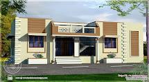 Single Floor House Front Design