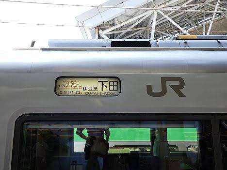 東海道線・伊東線 快速 伊豆クレイル 651系