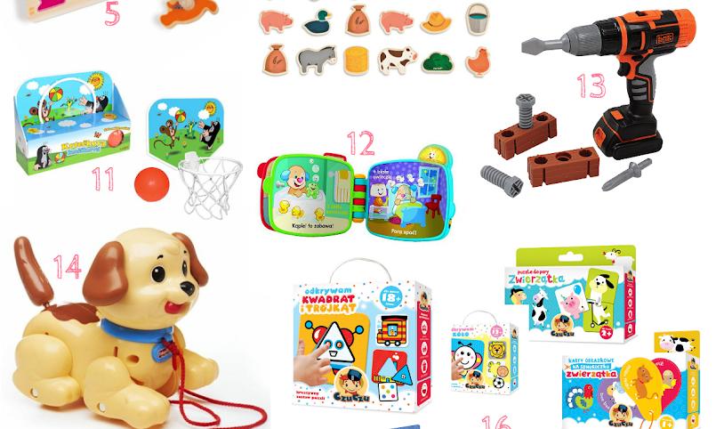 16 zabawek do 50zł, które zajmą dziecko na długi czas