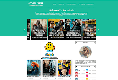 Best Movies Blogger Templates of 2020 Free Download