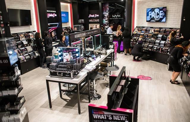 NYX Professional Make-Up inaugura sua primeira loja conceito em São Paulo