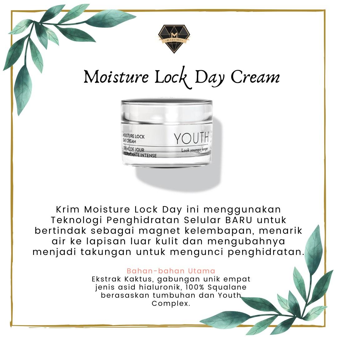 Skincare Untuk Kulit Kering - Youth Moisture Lock Daya Cream