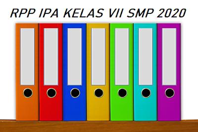 Kumpulan RPP IPA SMP Kelas VII 2020