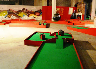 Chrizy Golf Christmas-themed Crazy Golf in Manchester