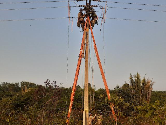 CERON realiza obras de manutenção nas regiões de Guajará-Mirim e Nova Mamoré