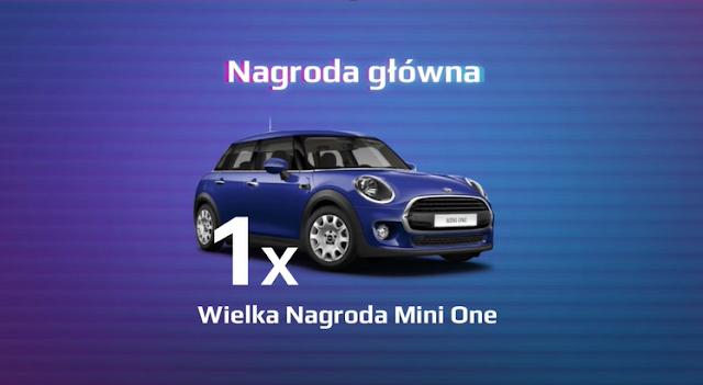 """Samochód Mini One Hatch - nagroda główna w loterii Citibanku """"Tyle wygrać"""""""