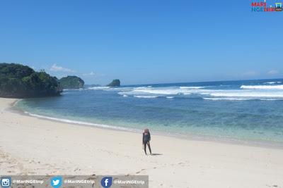 Pantai Pulodoro Malang Mari NGEtrip