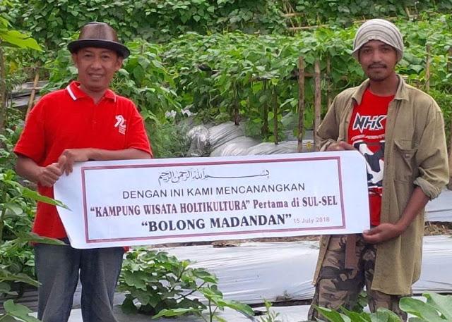 Woww! Ini Dia Kampung Wisata Hortikultura Bolong Madandan yang Pertama di Sulsel