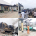 Governor Wike Supervises Demolition Of Two Hotels For Violating Lockdown Rules (photos)