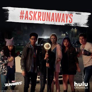 """Dos nuevos posters promocionales de """"Runaways"""""""