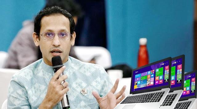 Rejeki Nomplok Gede-gedean, Nadiem Makarim Bakal Bagi-bagi Laptop untuk Para Guru dan Siswa, Dana Rp 1,49 Triliun Diajukan Agar Semua Terlaksana Tahun Depan