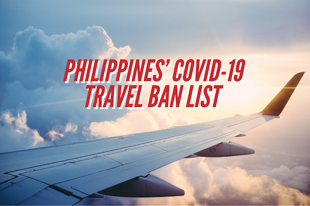 Philippines Travel Ban to China Hong Kong Macau and South Korea