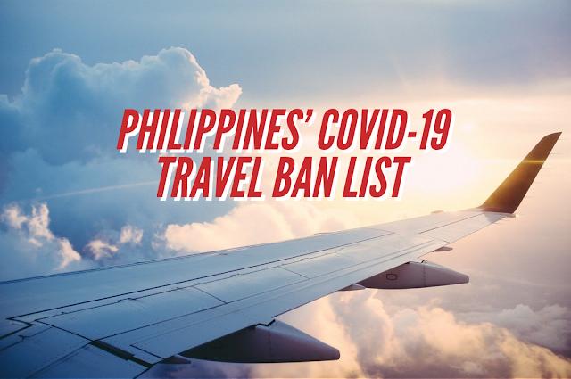 Philippines Travel Ban to China Hong Kong Macau and South Korea