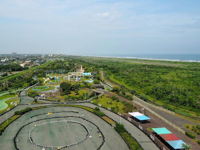 蓮沼海浜公園 展望塔 眺望
