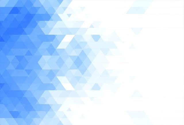 Wallpaper azul e branco