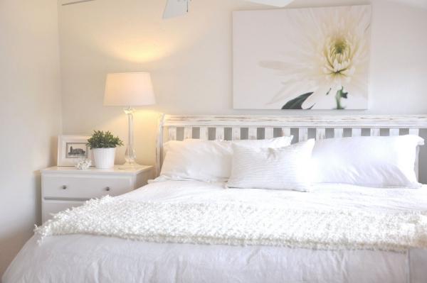 habitaciones color blanco dormitorios con estilo