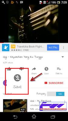 ciri-ciri video youtube yang tidak bisa di simpan offline