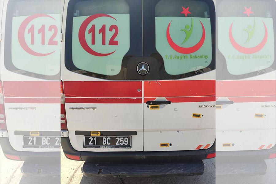 Diyarbakır'da ambulansa silahlı saldırı düzenleyen zanlı tutukladı