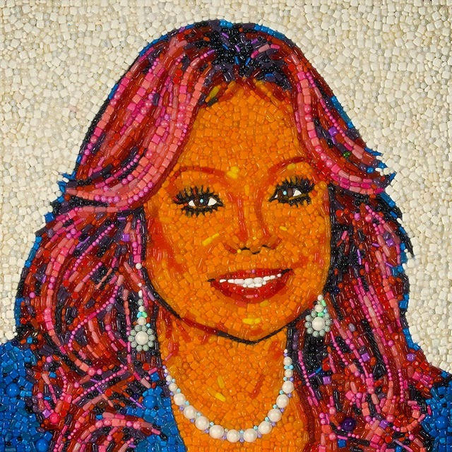 34-Latoya-Jackson-Jason-Mecier-Paintings-or-Sculptures-in-Portrait-Collage-www-designstack-co