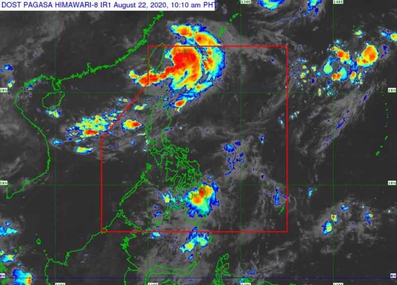 'Bagyong Igme' PAGASA weather update August 22, 2020