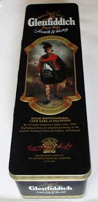 Plåtburk Glenfiddich clan Montgomrie.