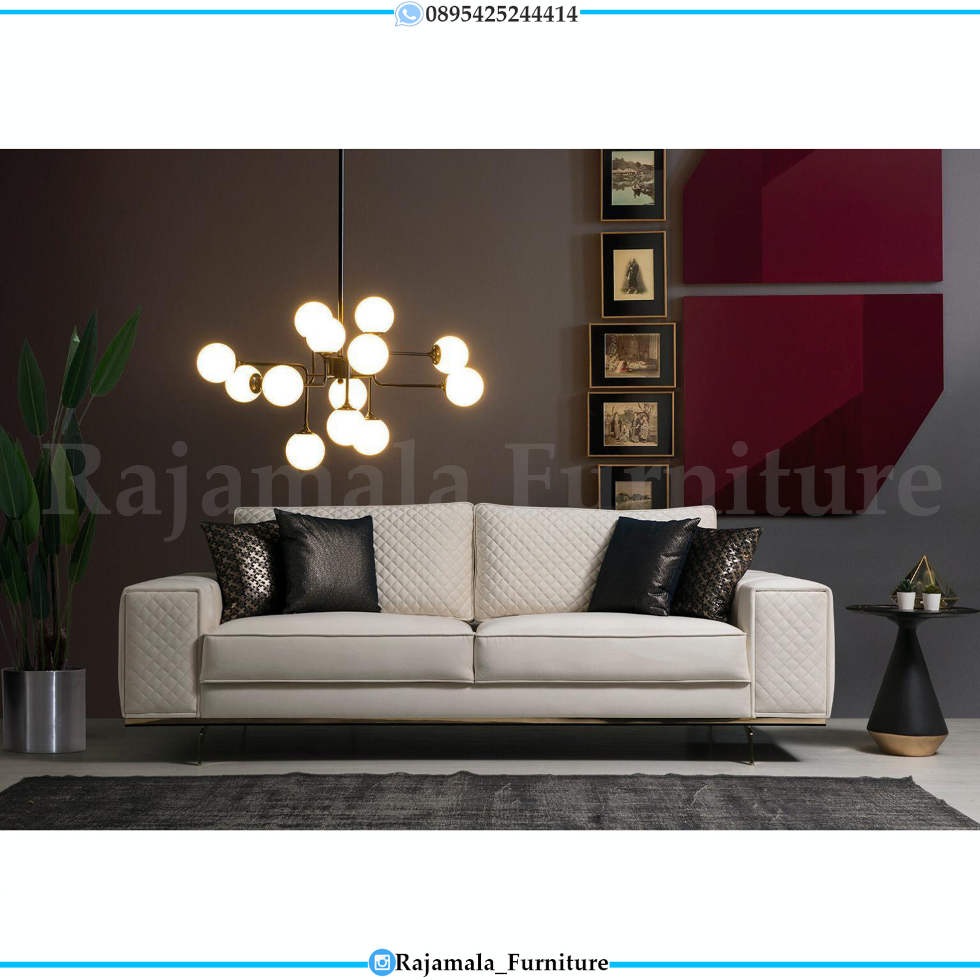 Best Sofa Tamu Minimalis Jepara Luxury High Quality RM-0147