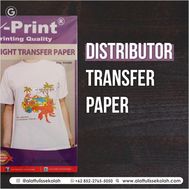 Distributor Transfer Paper | +62 852-2765-5050