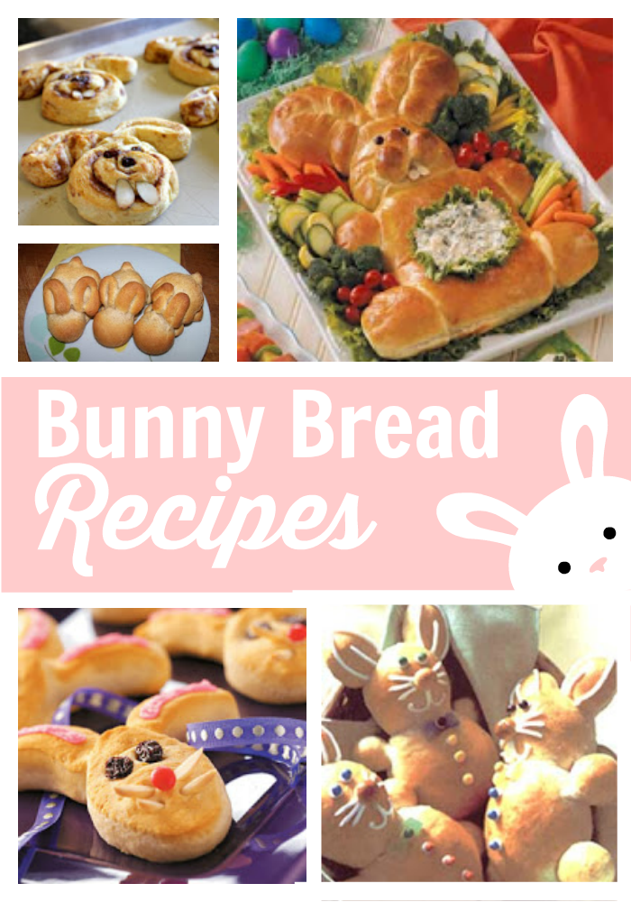 Bunny Bread Recipes Ideas featured at The Educators' Spin On It