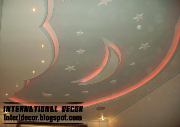 false ceiling design for kids room interior false gypsum ceiling