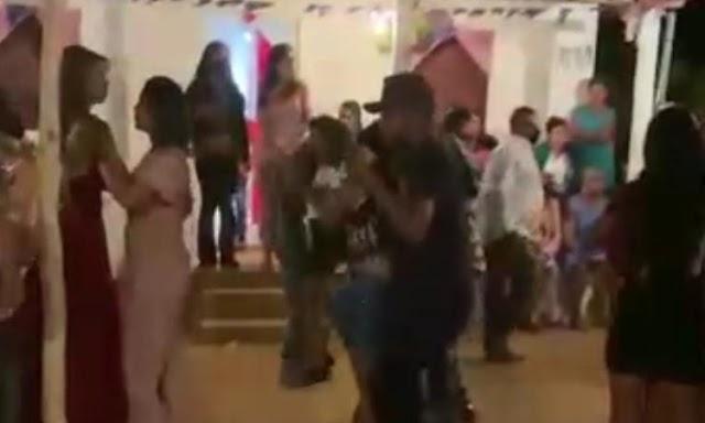 Festa de casamento com aglomeração e forró é registrada na zona rural de Botuporã