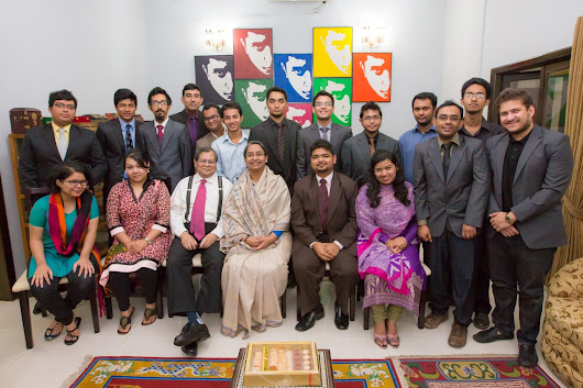 Bangaldesh won the Best Delegation award at New York Global Young Leaders Summit International Model United Nations