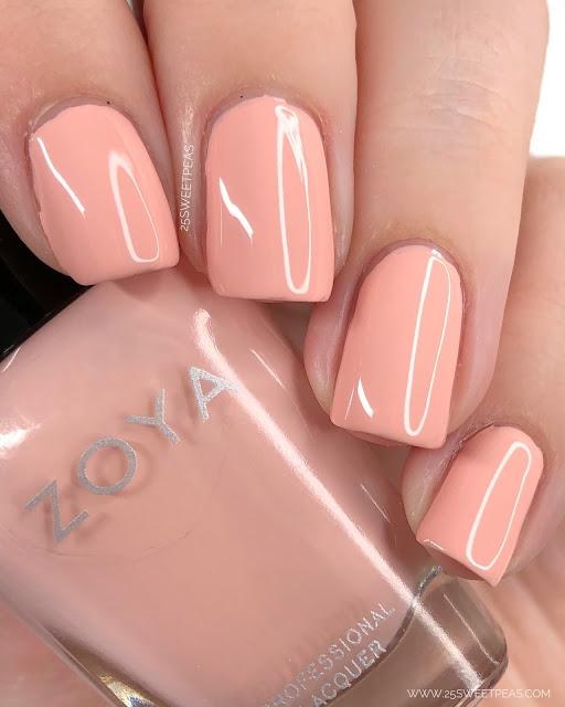 Zoya Joey Swatch 25 Sweetpeas