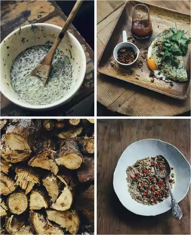 Toasted buckwheat, chia and millet granola