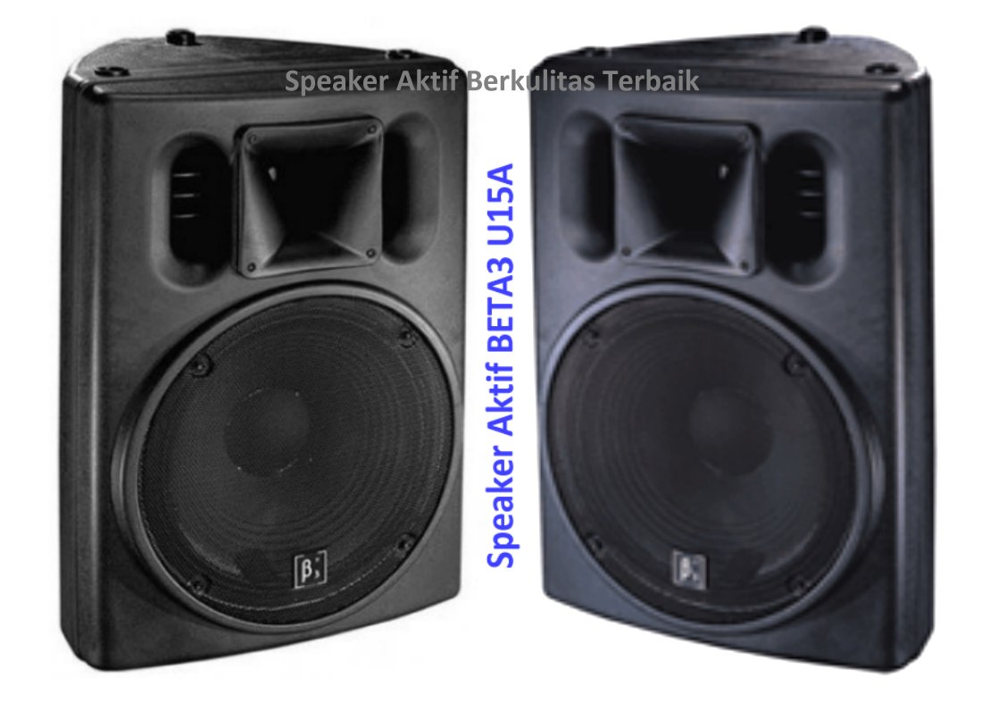 Harga Speaker Aktif 15 Inch Beta Three Terkenal