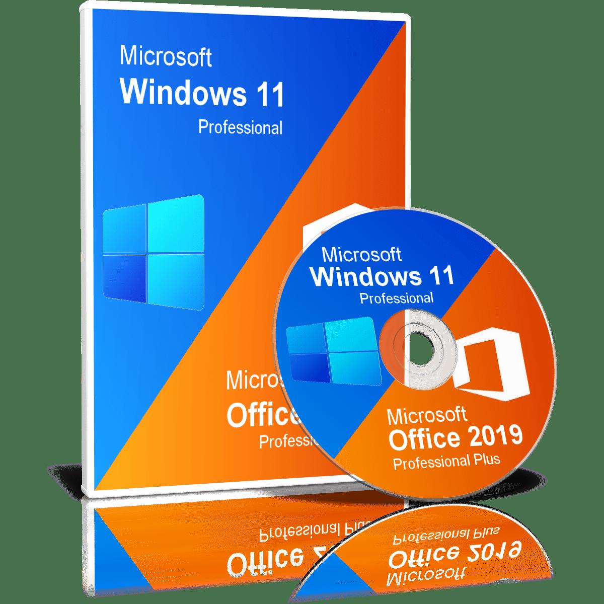 Windows 11 Pro With Office 2019 Pro Plus