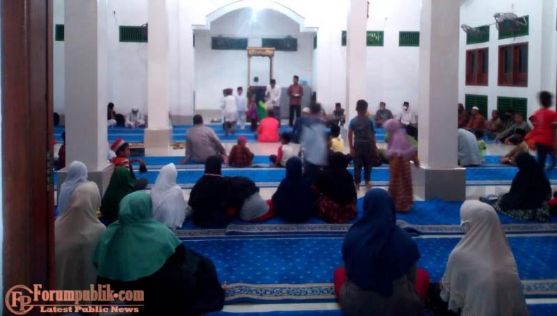 Pengurus Mesjid AL-AMIN Gelar Acara Sambut Maulid Nabi Muhammad Swt Secara Khidmat