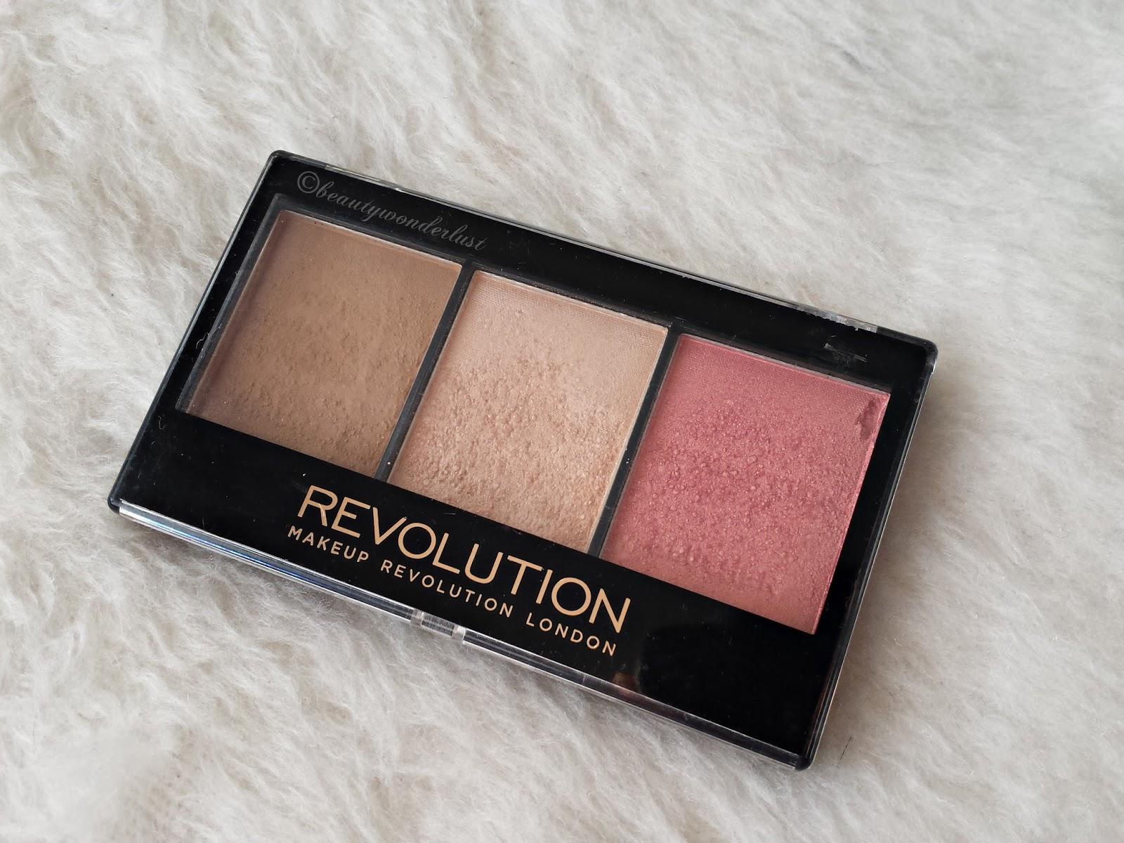 Makeup Revolution Ultra Sculpt Contour Kit Fair C01 ...