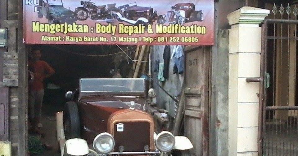 Bengkel Mobil & Motor Klasik Bin Kuno Bin Jadul Di Kota ...