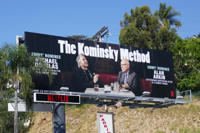 Kominsky Method season 1 Emmy nominee billboard