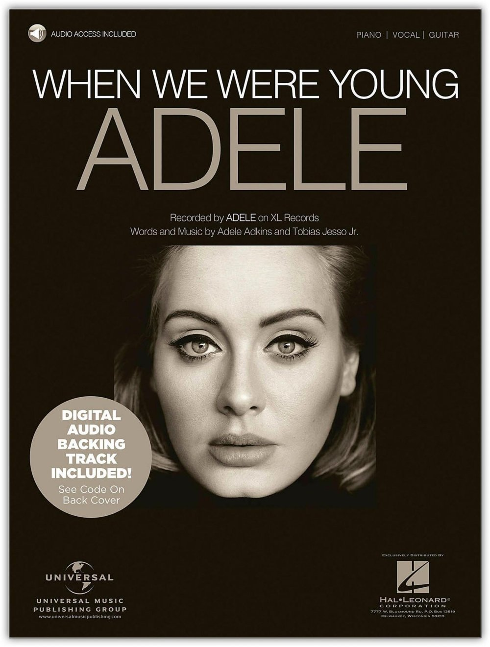 Chord When We Were Young - ADELE ( 2 Version ) - Kordpedia