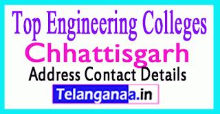 Top Engineering Colleges in Chhattisgarh