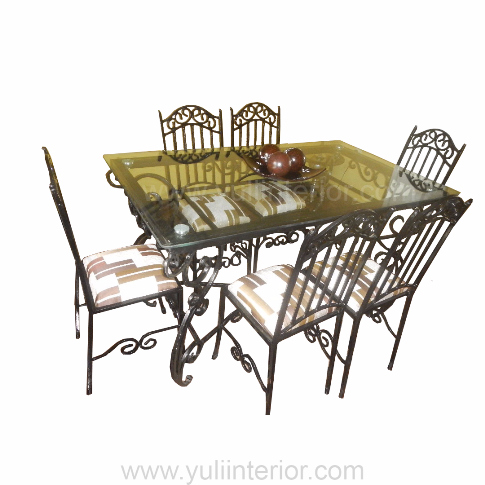 Wrought Iron Furniture, Dining Set In Port Harcourt, Nigeria