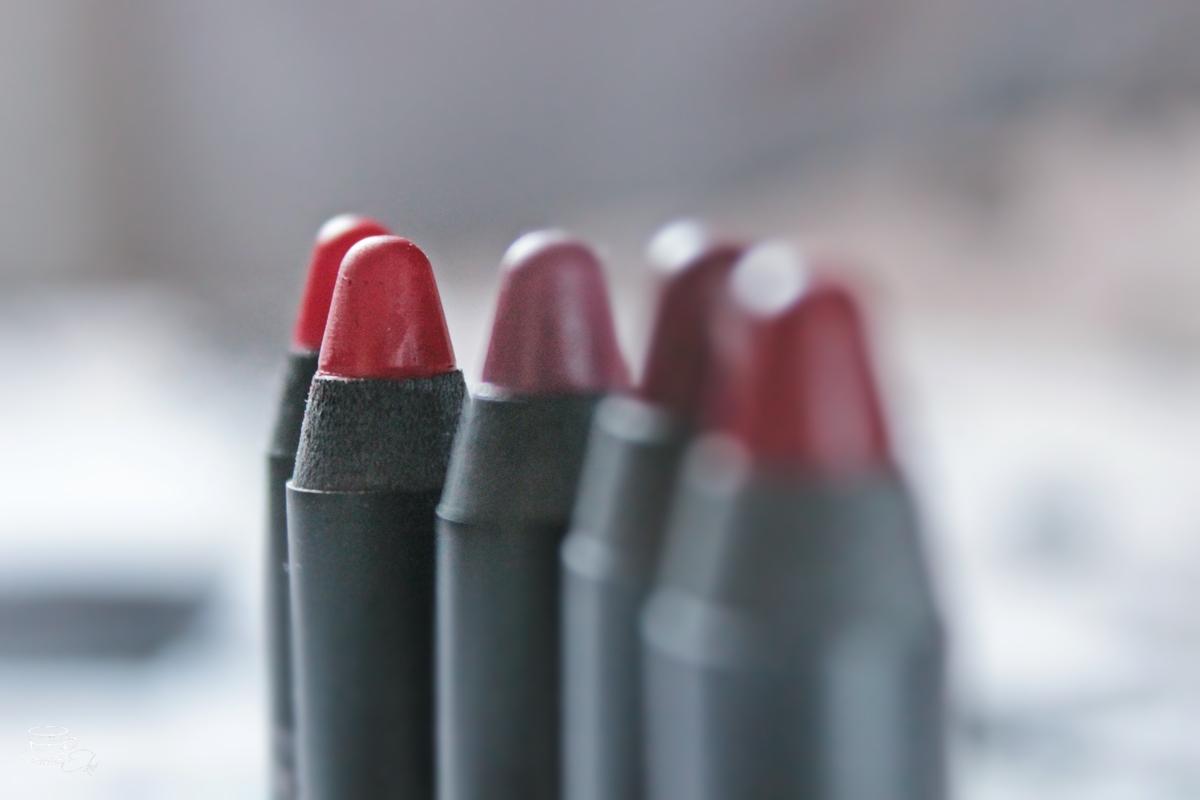 Alternatywa dla Velvet Matte i Long Liquid Lipstick, swatche, recenzja, jesienne kolory, 5, 19, 2, 6, 9 - recenzja