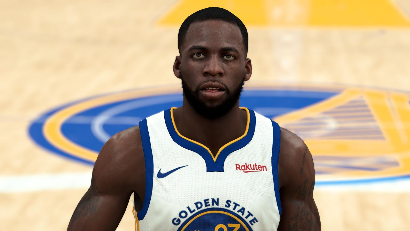 Draymond Green Hd Face And Body Model By Awei For 2k20 Nba 2k Updates Roster Update Cyberface Etc