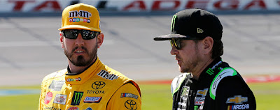 Las Vegas natives Kurt and Kyle Busch are unquestionably the fan favorites this weekend
